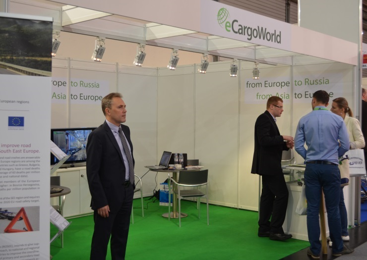 eCargoWorld at the fair Transport Logistic-2013 in Munich.